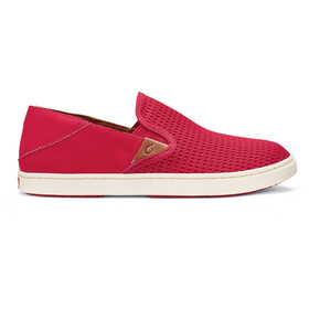 OluKai W's Pehuea Shoes Ohia Red/Ohia Red